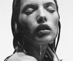 beautiful, girl, and water image