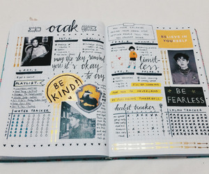 journal, kpop, and study image
