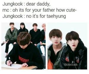 bts, jungkook, and bts memes image