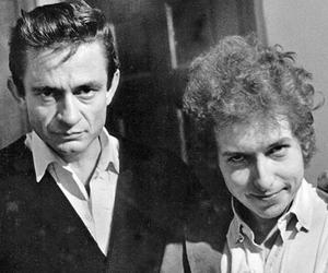bob dylan, Johnny Cash, and rock image