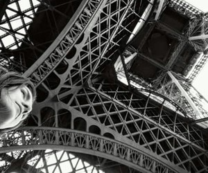 black&white, eiffel tower, and tour eiffel image