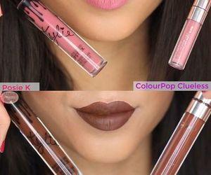 lips, lipstick, and matte image