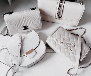 bag, fashion, and chanel image