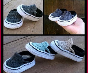 crafts, crochet, and sneakers image