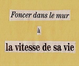 quotes, french, and inspiration image