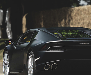 car, Lamborghini, and black image