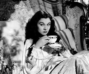 tea, Gone with the Wind, and vintage image