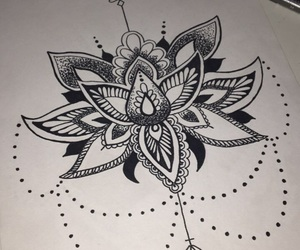 draw, draws, and flower image