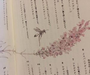 book, flowers, and japanese image