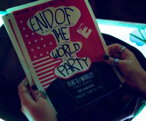 life is strange, mr. robot, and end of the world party image