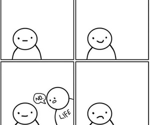 life, sad, and funny image