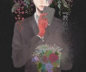 anime, anime boy, and black hair image