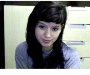 black hair, face, and girl image
