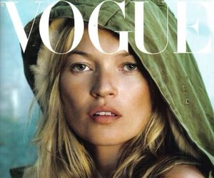 kate moss and vogue image