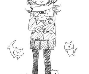 manga and neko image