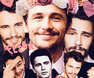 Collage and james franco image