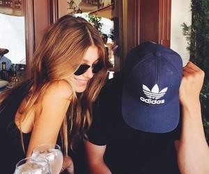 couple, camila morrone, and adidas image