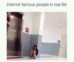 funny, internet, and famous image