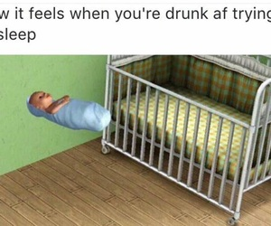 drunk, fun, and funny image