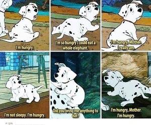 funny, disney, and 101 dalmatians image