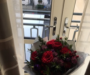 arab, red, and red roses image