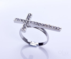etsy, silver jewelry, and statement ring image