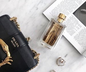 perfume, Prada, and fashion image