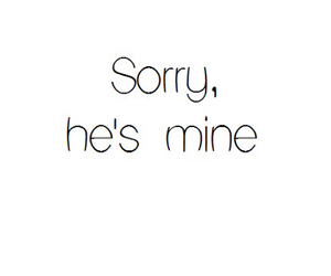 mine, love, and sorry image