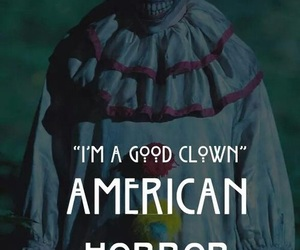 american horror story, clown, and horror image