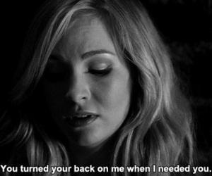 quote, the vampire diaries, and sad image