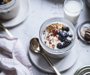 berry, breakfast, and coconut image