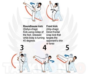 fighter, kicks, and martial arts image