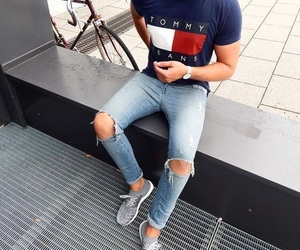 fashion, outfit, and tommy image