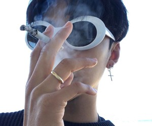boy, cigarette, and ulzzang image