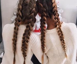 girl, bff, and braid image