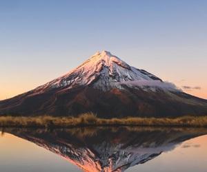 lake, nature, and montain image