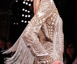 fashion, Balmain, and dress image
