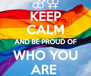 keep calm, lgbt, and gay image