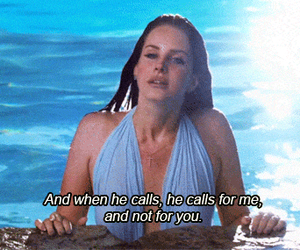 lana del rey, quotes, and love image