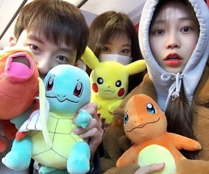 pokemon, ulzzang, and friends image