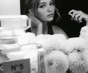 chanel, lily rose depp, and model image