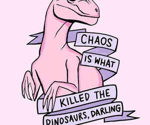 pink, dinosaur, and wallpaper image