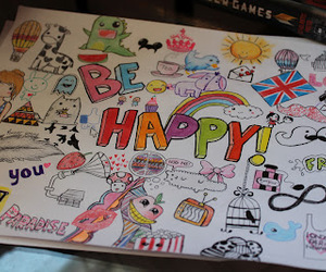 happy, london, and be happy image