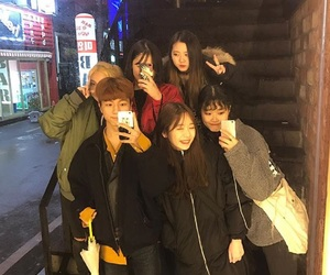 asian, korean, and squad image