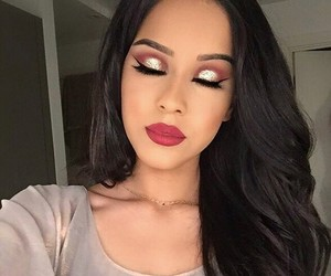 arab, eyebrows, and glitter image