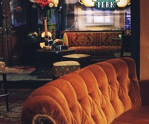 friends, central perk, and tv show image