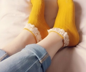 socks and yellow image