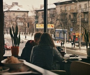 cafe, cozy, and winter image
