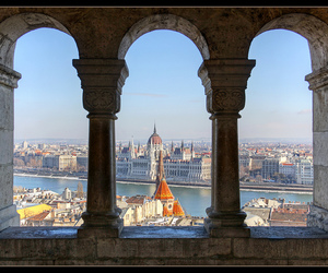 arches, buda, and budapest image