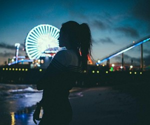 beautiful, city, and girl image